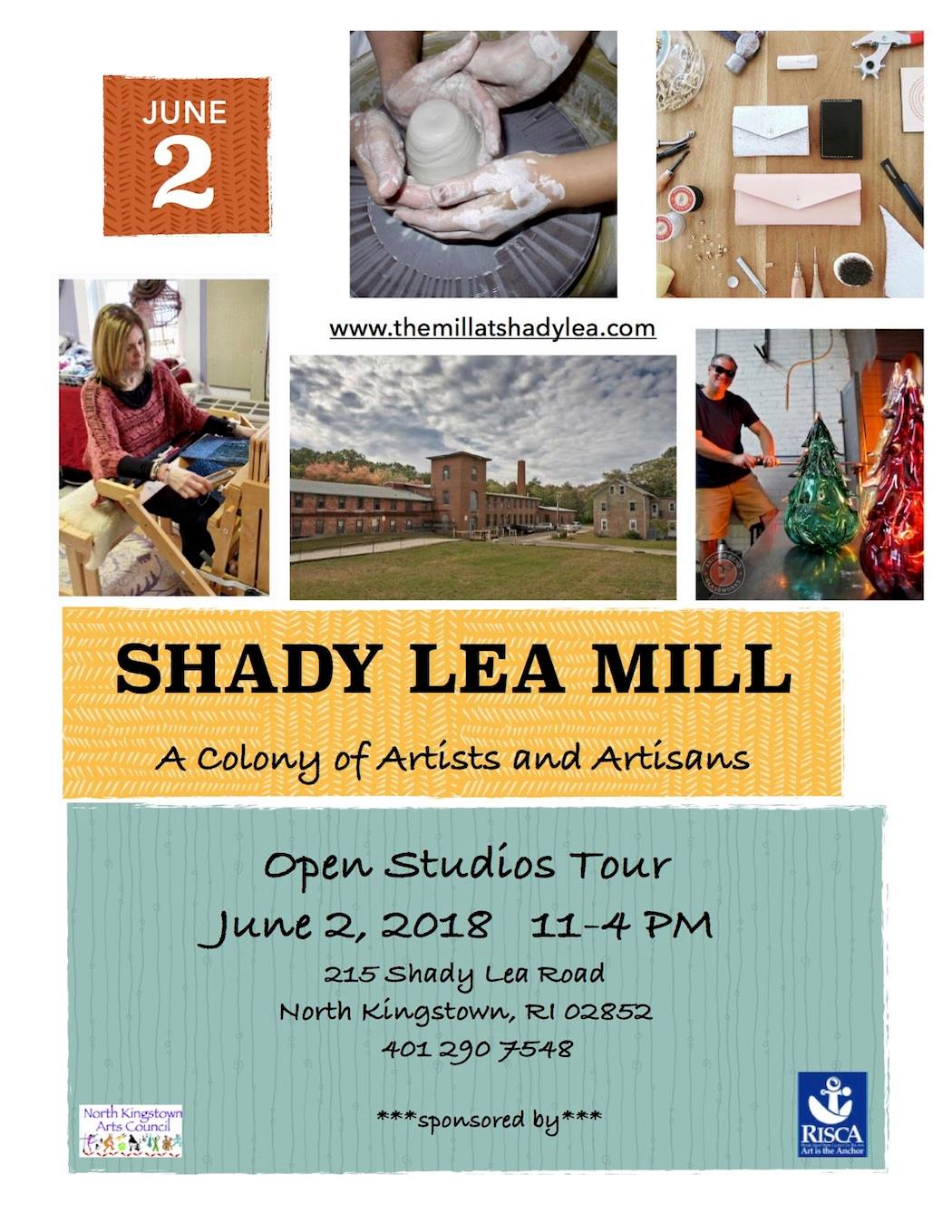 Open Studio Tour Saturday, June 2nd