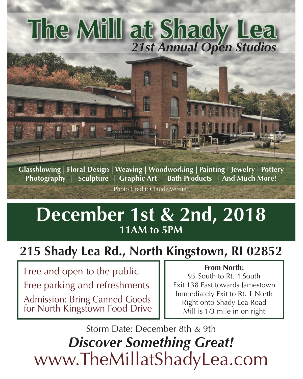 2018 Holiday Open Studios