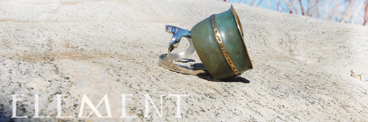 Element Art Jewelry, Patina, Silver, Sumptuous